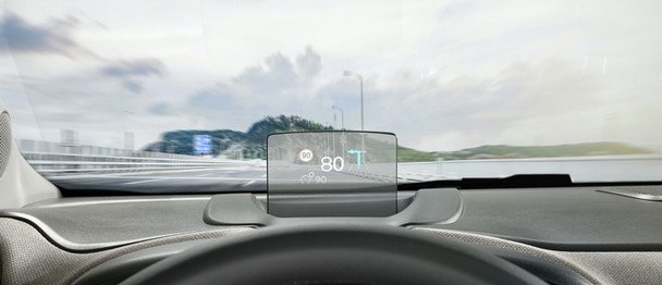 COLOUR HEAD-UP DISPLAY
